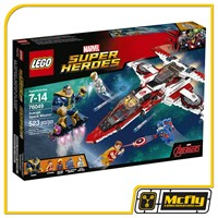 LEGO 76049 SUPER HEROES - AVENJET SPACE MISSION